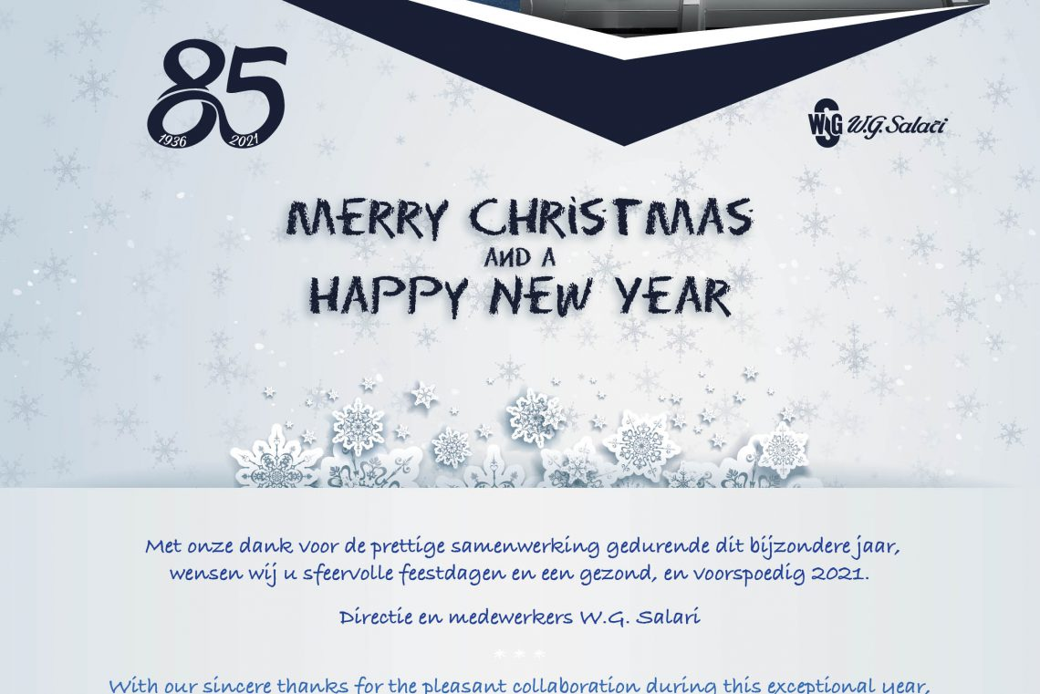 Digitale kerstkaart 2020